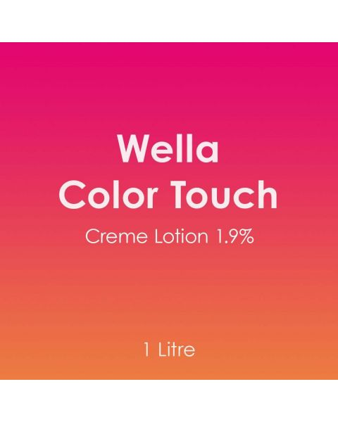Wella Color Touch Creme Lotion 1.9% 1 Litre Developer