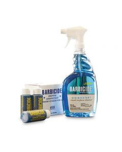 Barbicide Disinfectant Spray & Bullets - Pack of 6