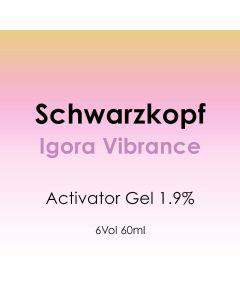 Schwarzkopf Igora Vibrance Activator Gel 1.9% - 6 Vol. 60ml