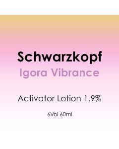 Schwarzkopf Igora Vibrance Activator Lotion 1.9% / 6 Vol. 60ml