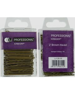 LJ Professional Handipack Kirbigrip Brown x100