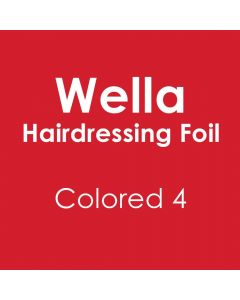 Wella Hairdressing Foil - Colored 4 Pack