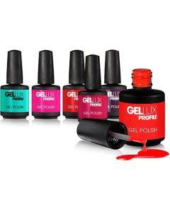 Salon System Gellux Nails- All Colours