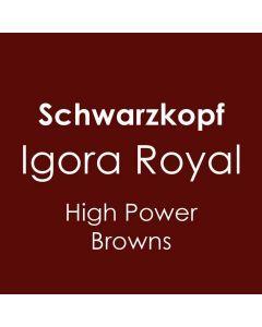 Schwarzkopf Igora Royal High Power Browns