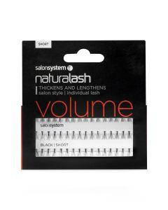 Salon System - Naturalash Individual Lash Volume Black Short