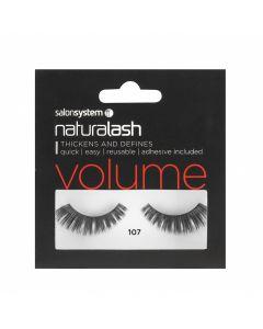 Salon System - Naturalash 107 Black Volume