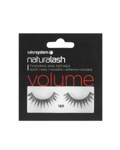 Salon System - Naturalash 120 Black Volume