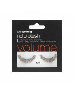Salon System - Naturalash 100 Black Volume