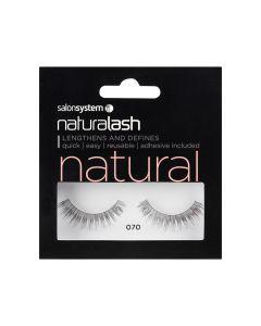 Salon System - Naturalash 070 Black Natural