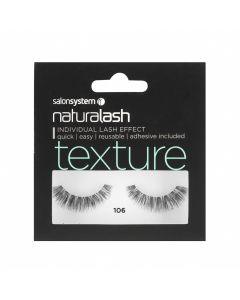 Salon System - Naturalash 106 Black Texture