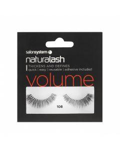 Salon System - Naturalash 108 Black Volume