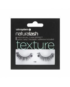 Salon System - Naturalash 135 Black Texture