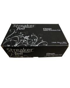 Streaker Hairdressing Foil 3 x 100m Silver