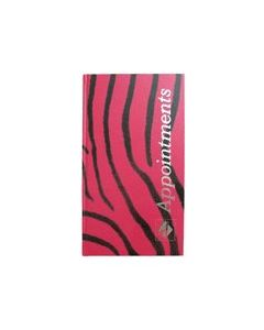 Agenda Appointment Book 3 Assistant Zebra