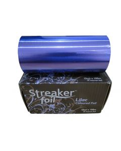 Streaker Wide Hairdressing Foil 100 Metres Lilac