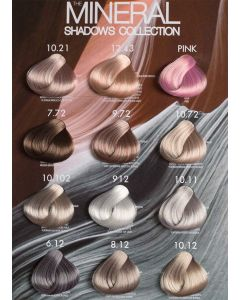 Suprema Color - Minerals Colour Chart
