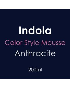Indola Color Style Mousse 200ml - Anthracite