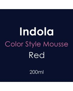 Indola Color Style Mousse 200ml - Red