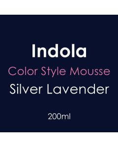 Indola Color Style Mousse 200ml -Silver Lavender