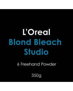 L'Oreal Blond Bleach Studio 6 Freehand Powder 350g