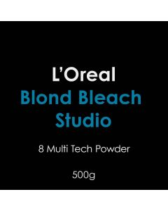 L'Oreal Blond Bleach Studio 8 Multi Tech Powder 500g
