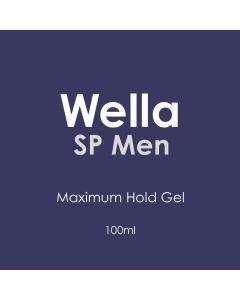 Wella SP Men Maximum Hold Gel 100ml