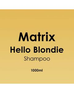 Matrix Hello Blondie Shampoo 1000ml