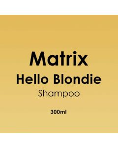 Matrix Hello Blondie Shampoo 300ml