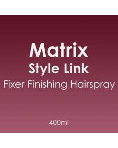 Matrix Style Link Fixer Finishing Hairspray 400ml