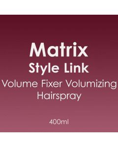 Matrix Style Link Volume Fixer Volumizing Hairspray 400ml