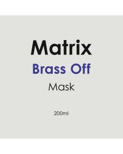 Matrix Brass Off Mask 200ml