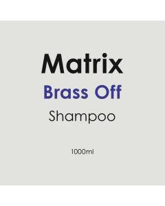 Matrix Brass Off Shampoo 1000ml