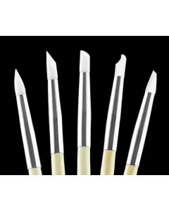 Kodo Silicone Nail Art Brushes - 5 Pack