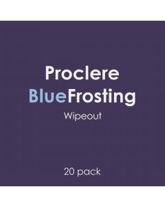Proclere Blue Frosting Wipeout 20 pack