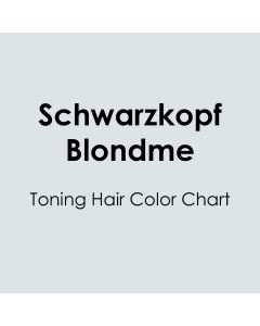 Schwarzkopf BLONDME Shade Guide