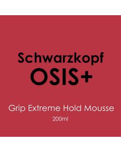 Schwarzkopf Osis+ Grip Extreme Hold Mousse 200ml