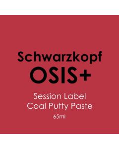 Schwarzkopf Osis+ Session Label Coal Putty 65ml