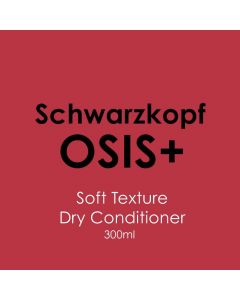 Schwarzkopf Osis+ Soft Texture Blow Dry Conditioner 300ml