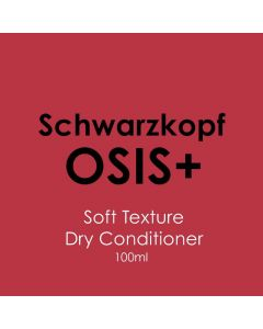 Schwarzkopf Osis+ Soft Texture Dry Conditioner 100ml