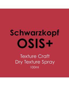 Schwarzkopf Osis+ Texture Craft Dry Texture Spray 100ml