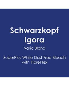 Schwarzkopf Igora Vario Blond SuperPlus White Dust Free Bleach with FibrePlex