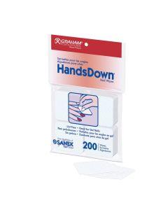 HandsDown 200 Lint-Free Nail Wipes