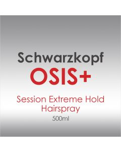 Schwarzkopf OSiS+ Session Extreme Hold Hairspray 500ml