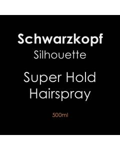 Schwarzkopf Silhouette Super Hold Hairspray 500ml