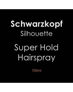 Schwarzkopf Silhouette Super Hold Hairspray 750ml