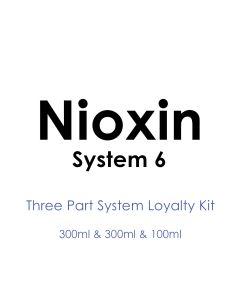 Nioxin System 6 Trio Loyalty Kit