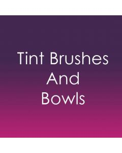Tint Brushes and Bowls