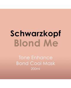 Schwarzkopf BLONDME Enhancing Bonding Mask - Cool Blondes 200ml