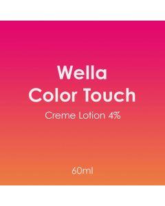 Wella Color Touch Creme Lotion 4% 60ml Developer