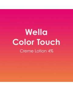 Wella Color Touch Creme Lotion 4% Developer